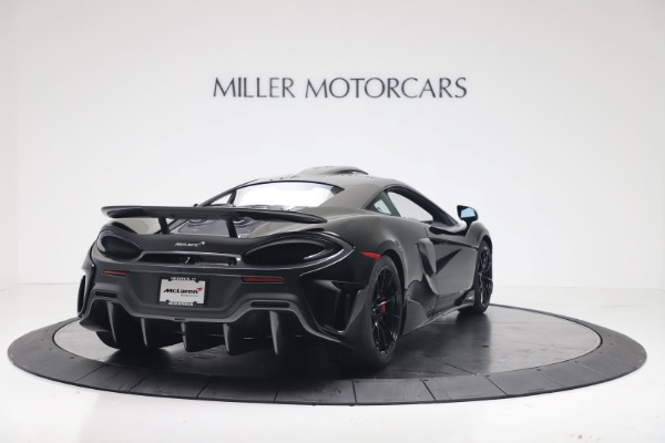 New 2019 McLaren 600LT for sale $305,639 at Pagani of Greenwich in Greenwich CT 06830 6