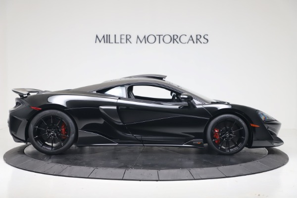 New 2019 McLaren 600LT for sale $305,639 at Pagani of Greenwich in Greenwich CT 06830 8