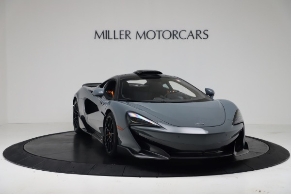 New 2019 McLaren 600LT Coupe for sale $311,619 at Pagani of Greenwich in Greenwich CT 06830 10