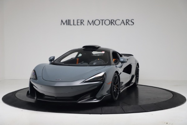 New 2019 McLaren 600LT Coupe for sale $311,619 at Pagani of Greenwich in Greenwich CT 06830 13