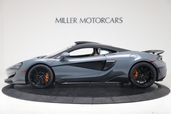 New 2019 McLaren 600LT Coupe for sale $311,619 at Pagani of Greenwich in Greenwich CT 06830 2