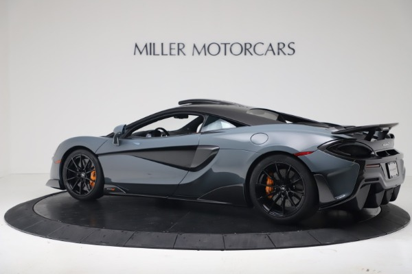 New 2019 McLaren 600LT for sale $311,619 at Pagani of Greenwich in Greenwich CT 06830 3