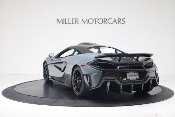 New 2019 McLaren 600LT for sale $311,619 at Pagani of Greenwich in Greenwich CT 06830 4