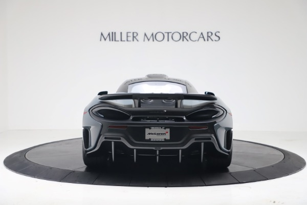 New 2019 McLaren 600LT Coupe for sale $311,619 at Pagani of Greenwich in Greenwich CT 06830 5