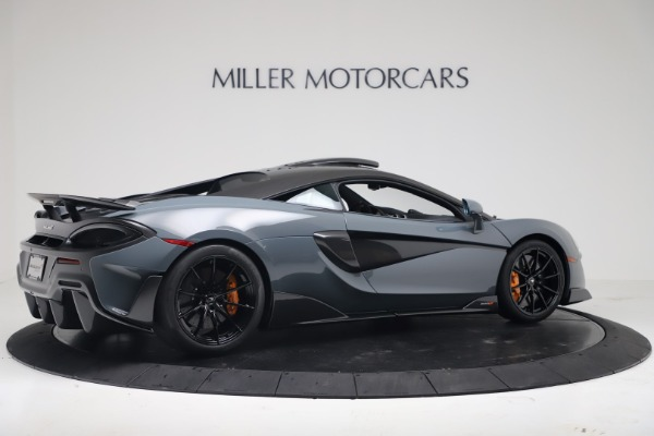 New 2019 McLaren 600LT for sale $311,619 at Pagani of Greenwich in Greenwich CT 06830 7
