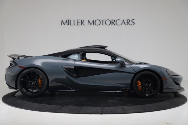New 2019 McLaren 600LT Coupe for sale $311,619 at Pagani of Greenwich in Greenwich CT 06830 8