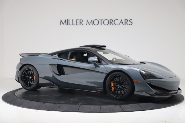 New 2019 McLaren 600LT for sale $311,619 at Pagani of Greenwich in Greenwich CT 06830 9