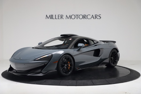 New 2019 McLaren 600LT Coupe for sale $311,619 at Pagani of Greenwich in Greenwich CT 06830 1