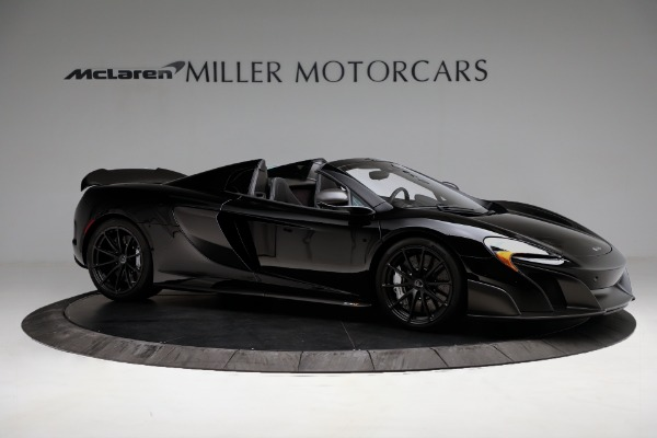 Used 2016 McLaren 675LT Convertible for sale Sold at Pagani of Greenwich in Greenwich CT 06830 10