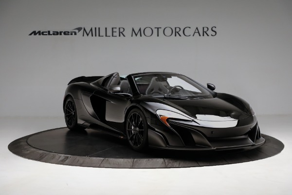 Used 2016 McLaren 675LT Convertible for sale Sold at Pagani of Greenwich in Greenwich CT 06830 11