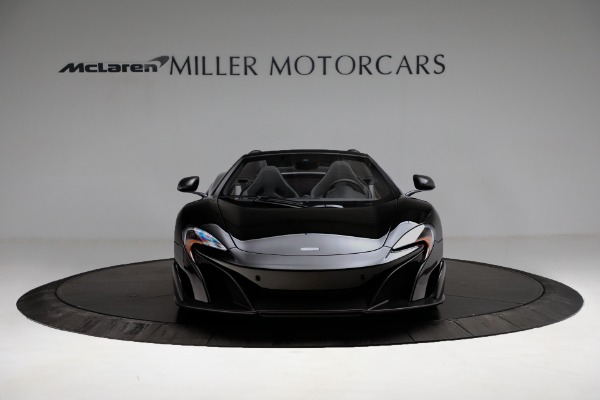 Used 2016 McLaren 675LT Convertible for sale Sold at Pagani of Greenwich in Greenwich CT 06830 12