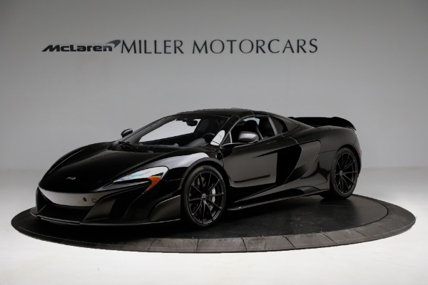 Used 2016 McLaren 675LT Convertible for sale Sold at Pagani of Greenwich in Greenwich CT 06830 13