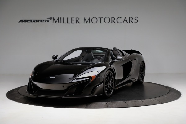 Used 2016 McLaren 675LT Convertible for sale Sold at Pagani of Greenwich in Greenwich CT 06830 2