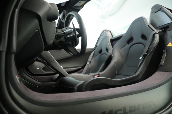 Used 2016 McLaren 675LT Convertible for sale Sold at Pagani of Greenwich in Greenwich CT 06830 22