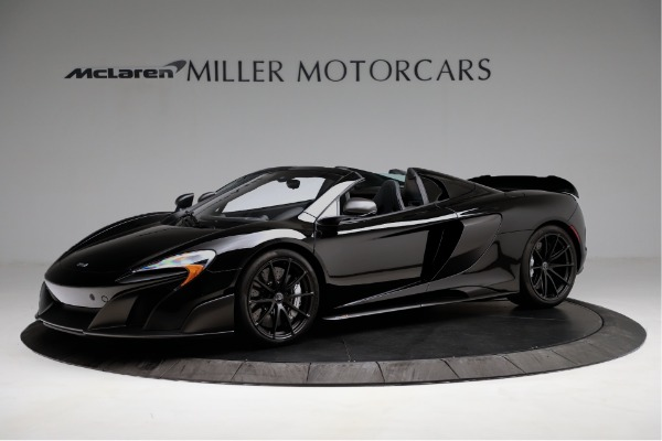 Used 2016 McLaren 675LT Convertible for sale Sold at Pagani of Greenwich in Greenwich CT 06830 1