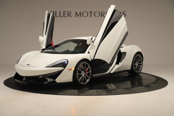 New 2020 McLaren 570S for sale $215,600 at Pagani of Greenwich in Greenwich CT 06830 13