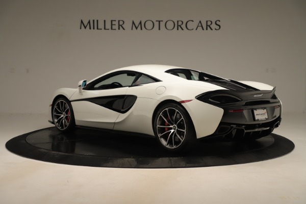 New 2020 McLaren 570S for sale $215,600 at Pagani of Greenwich in Greenwich CT 06830 3