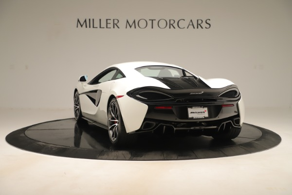 New 2020 McLaren 570S for sale $215,600 at Pagani of Greenwich in Greenwich CT 06830 4