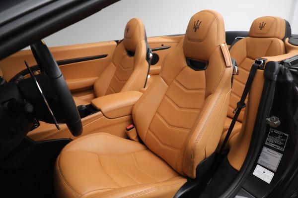 New 2019 Maserati GranTurismo MC Convertible for sale Sold at Pagani of Greenwich in Greenwich CT 06830 27