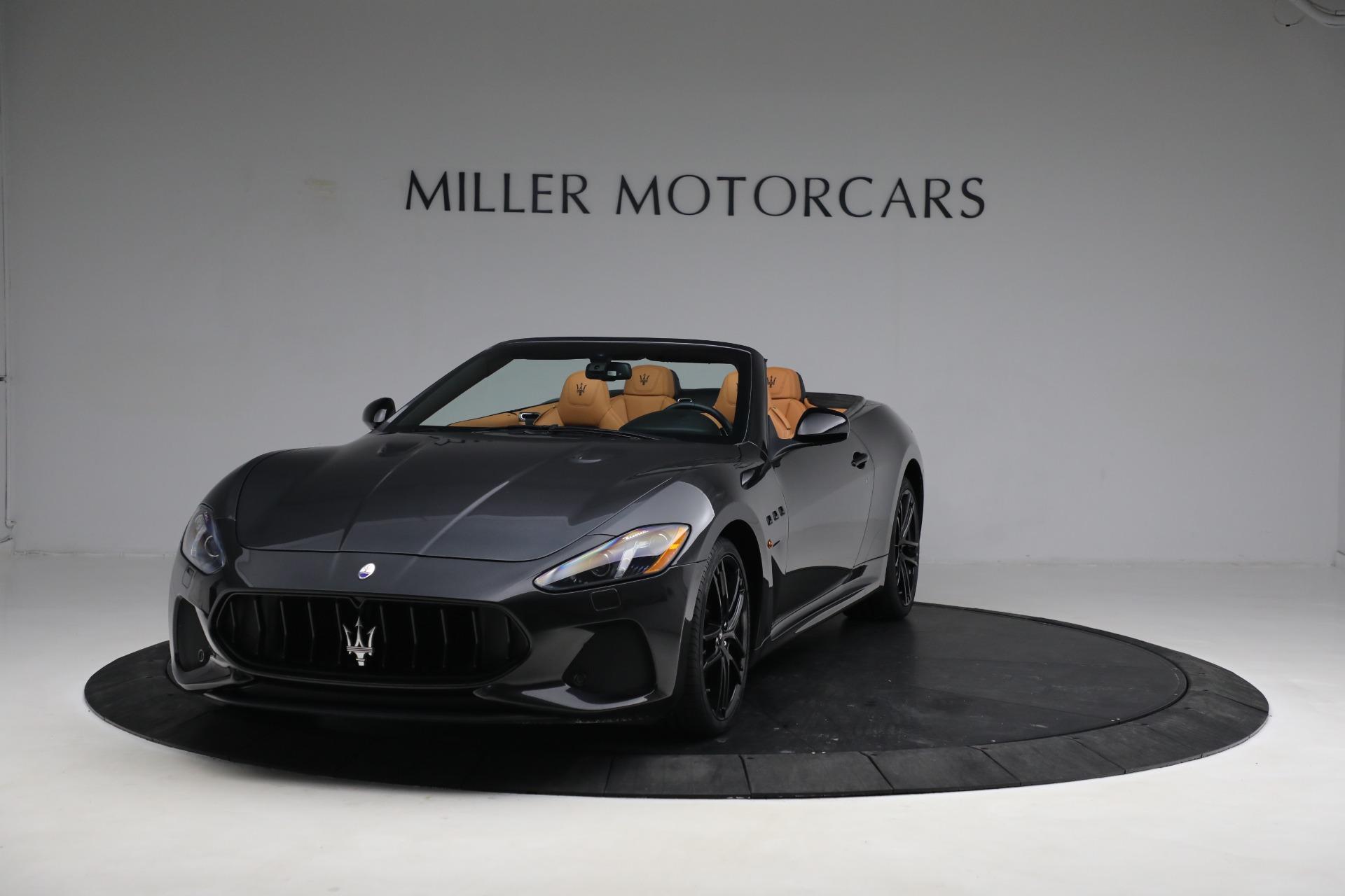 New 2019 Maserati GranTurismo MC Convertible for sale Sold at Pagani of Greenwich in Greenwich CT 06830 1
