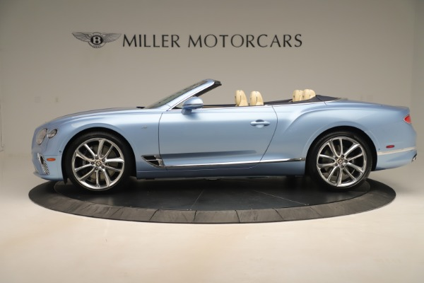 New 2020 Bentley Continental GTC V8 for sale Sold at Pagani of Greenwich in Greenwich CT 06830 3
