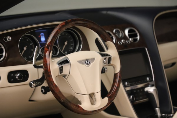 Used 2016 Bentley Continental GTC W12 for sale Sold at Pagani of Greenwich in Greenwich CT 06830 27