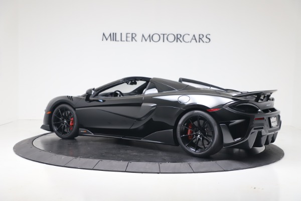 New 2020 McLaren 600LT SPIDER Convertible for sale Sold at Pagani of Greenwich in Greenwich CT 06830 13