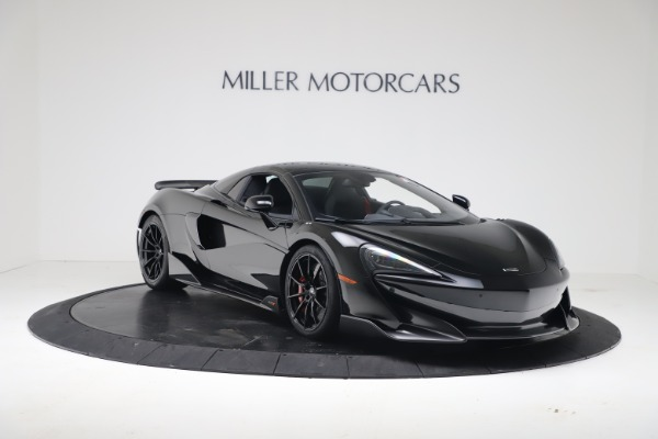 New 2020 McLaren 600LT SPIDER Convertible for sale Sold at Pagani of Greenwich in Greenwich CT 06830 16