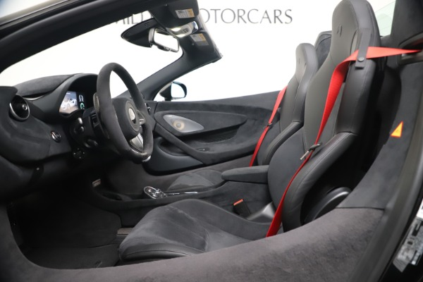 Used 2020 McLaren 600LT Spider for sale $249,900 at Pagani of Greenwich in Greenwich CT 06830 19