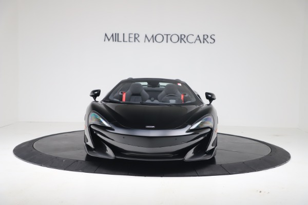 New 2020 McLaren 600LT SPIDER Convertible for sale Sold at Pagani of Greenwich in Greenwich CT 06830 3