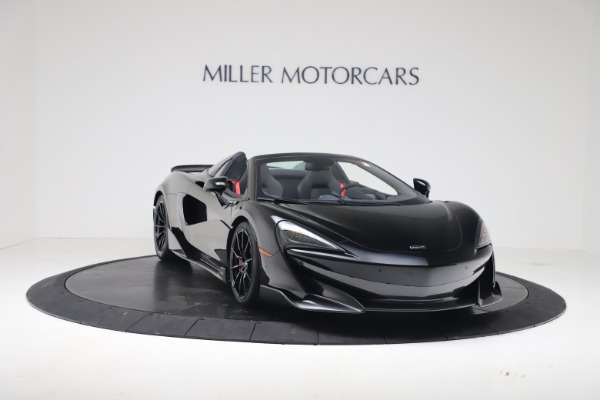 Used 2020 McLaren 600LT Spider for sale $249,900 at Pagani of Greenwich in Greenwich CT 06830 4