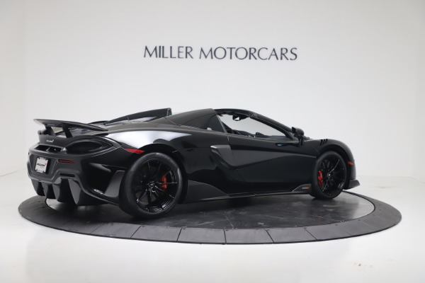 New 2020 McLaren 600LT SPIDER Convertible for sale Sold at Pagani of Greenwich in Greenwich CT 06830 7