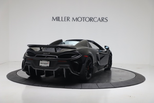 New 2020 McLaren 600LT SPIDER Convertible for sale Sold at Pagani of Greenwich in Greenwich CT 06830 8