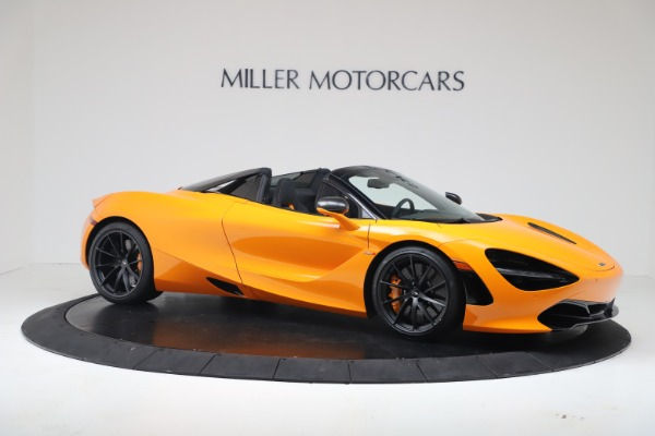 New 2020 McLaren 720S Spider Convertible for sale $374,440 at Pagani of Greenwich in Greenwich CT 06830 10