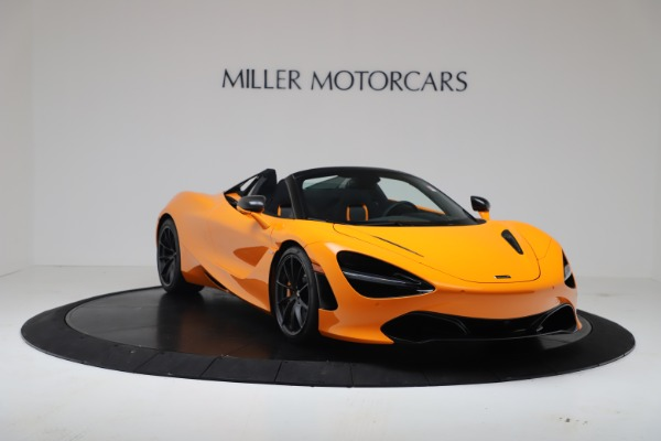 New 2020 McLaren 720S Spider Convertible for sale $374,440 at Pagani of Greenwich in Greenwich CT 06830 11