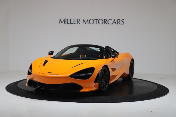 New 2020 McLaren 720S Spider Convertible for sale $374,440 at Pagani of Greenwich in Greenwich CT 06830 2