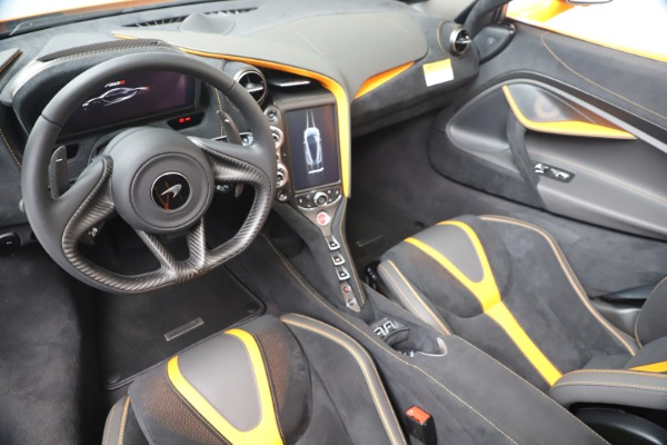 New 2020 McLaren 720S Spider Convertible for sale $374,440 at Pagani of Greenwich in Greenwich CT 06830 23