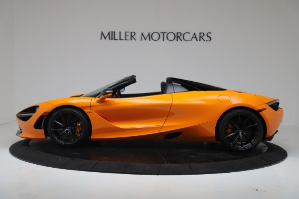 New 2020 McLaren 720S Spider Performance for sale $374,440 at Pagani of Greenwich in Greenwich CT 06830 3
