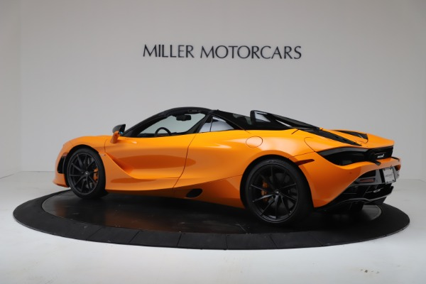 New 2020 McLaren 720S Spider Convertible for sale $374,440 at Pagani of Greenwich in Greenwich CT 06830 4