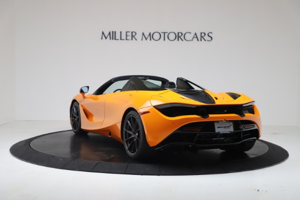 New 2020 McLaren 720S Spider Convertible for sale $374,440 at Pagani of Greenwich in Greenwich CT 06830 5