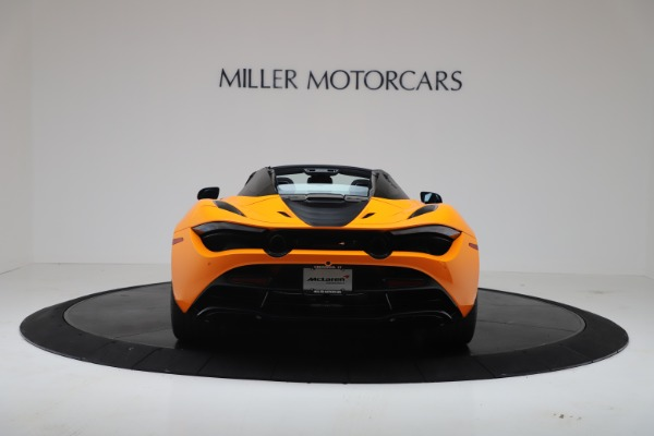 New 2020 McLaren 720S Spider Convertible for sale $374,440 at Pagani of Greenwich in Greenwich CT 06830 6