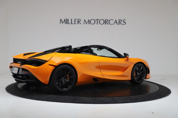 New 2020 McLaren 720S Spider Convertible for sale $374,440 at Pagani of Greenwich in Greenwich CT 06830 8