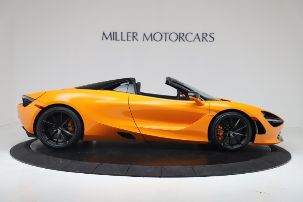 New 2020 McLaren 720S Spider Convertible for sale $374,440 at Pagani of Greenwich in Greenwich CT 06830 9