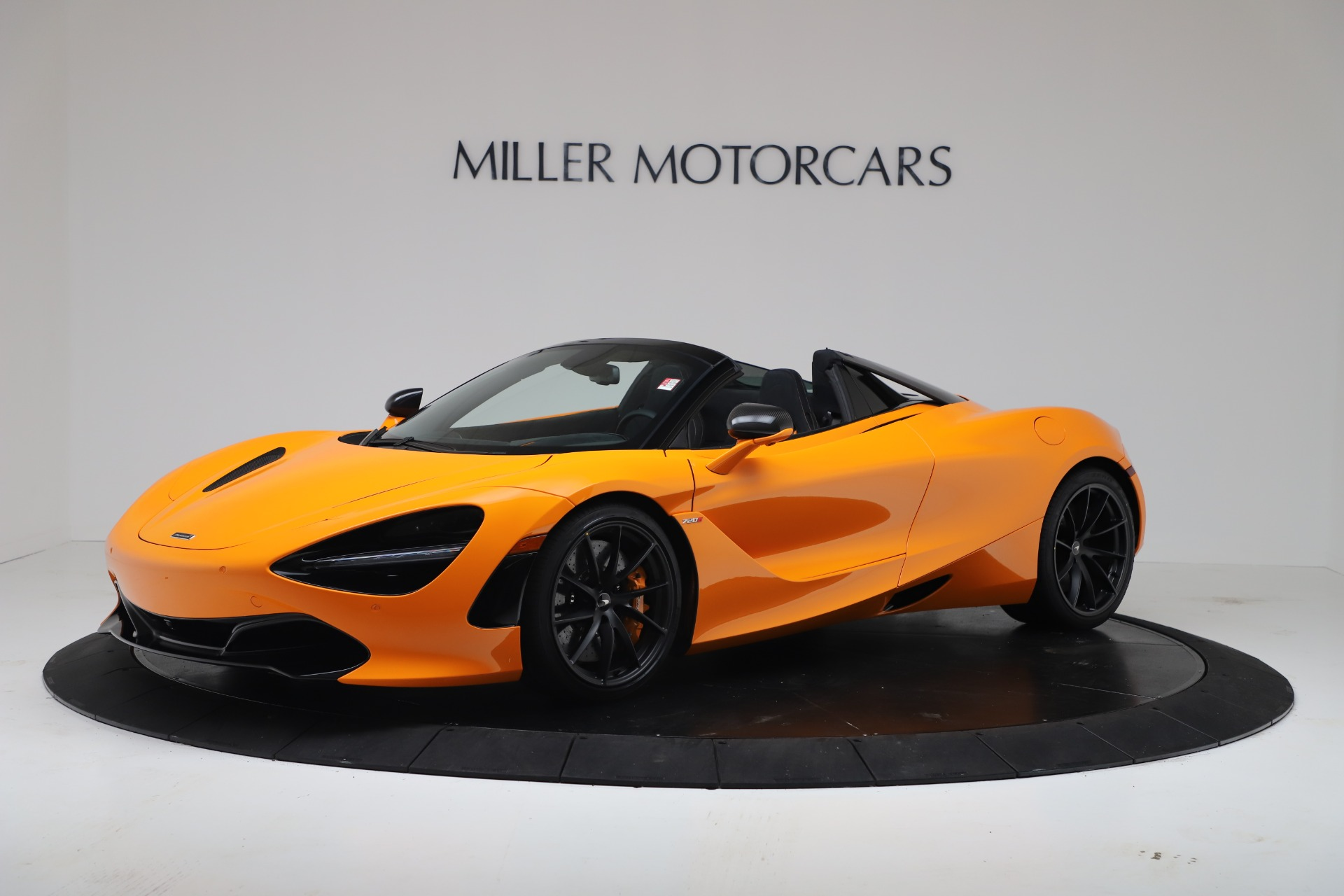 New 2020 McLaren 720S Spider Convertible for sale $374,440 at Pagani of Greenwich in Greenwich CT 06830 1