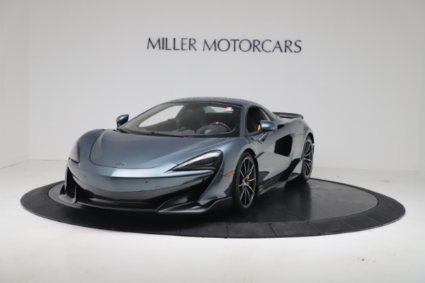 New 2020 McLaren 600LT SPIDER Convertible for sale Sold at Pagani of Greenwich in Greenwich CT 06830 12