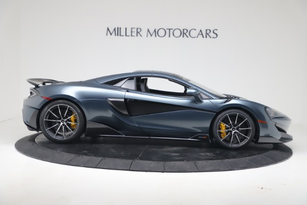 New 2020 McLaren 600LT SPIDER Convertible for sale Sold at Pagani of Greenwich in Greenwich CT 06830 17