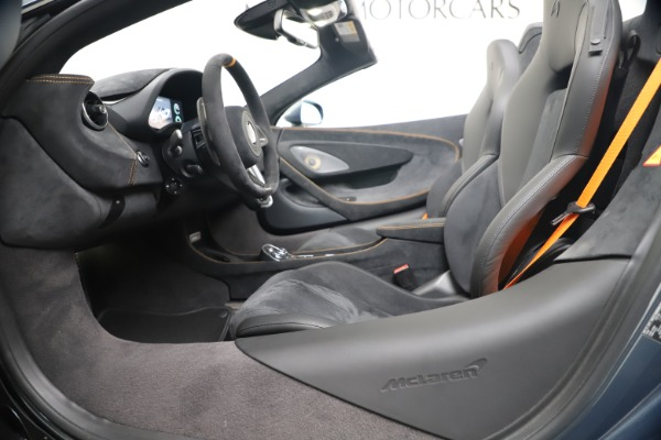New 2020 McLaren 600LT SPIDER Convertible for sale Sold at Pagani of Greenwich in Greenwich CT 06830 24