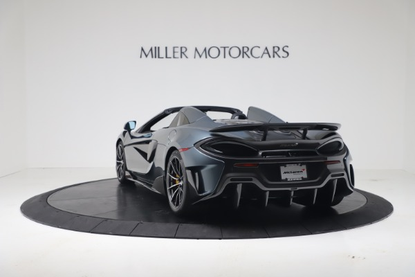 New 2020 McLaren 600LT SPIDER Convertible for sale Sold at Pagani of Greenwich in Greenwich CT 06830 4