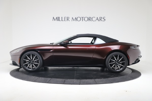Used 2020 Aston Martin DB11 Volante Convertible for sale Call for price at Pagani of Greenwich in Greenwich CT 06830 14