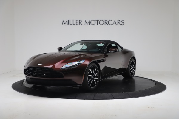 Used 2020 Aston Martin DB11 Volante Convertible for sale Call for price at Pagani of Greenwich in Greenwich CT 06830 4
